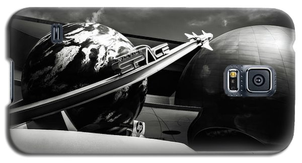 Mission Space Black And White Galaxy S5 Case by Eduard Moldoveanu