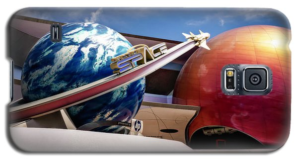 Mission Space Galaxy S5 Case by Eduard Moldoveanu
