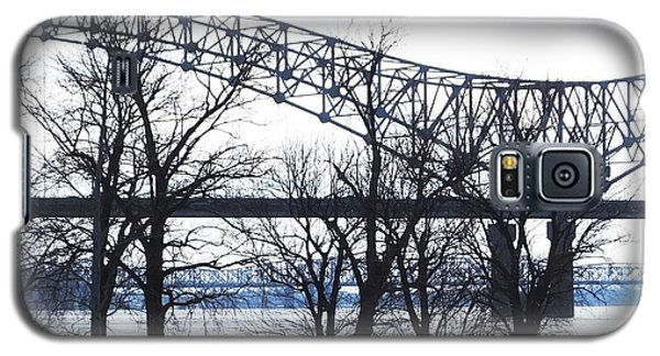 Mississippi River At Memphis January High Water Galaxy S5 Case by Lizi Beard-Ward