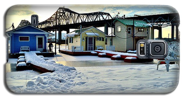 Mississippi River Boathouses Galaxy S5 Case