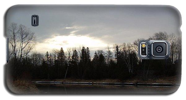 Mississippi River Dawn Clouds Galaxy S5 Case by Kent Lorentzen