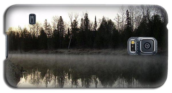Mississippi River Fog Reflection Galaxy S5 Case by Kent Lorentzen
