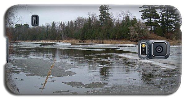 Mississippi River Ice Flow Galaxy S5 Case by Kent Lorentzen