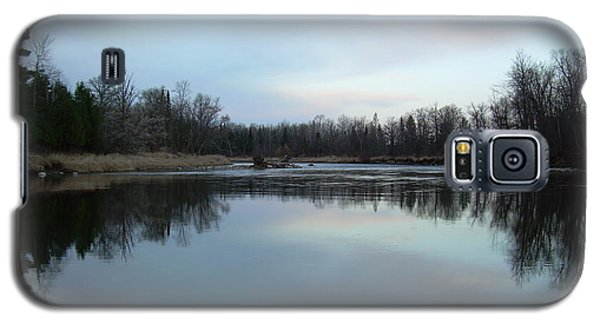 Mississippi River Morning Reflection Galaxy S5 Case by Kent Lorentzen