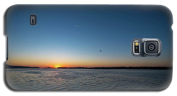 Mississippi River Sunrise Galaxy S5 Case