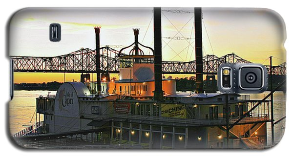 Mississippi Riverboat Sunset Galaxy S5 Case