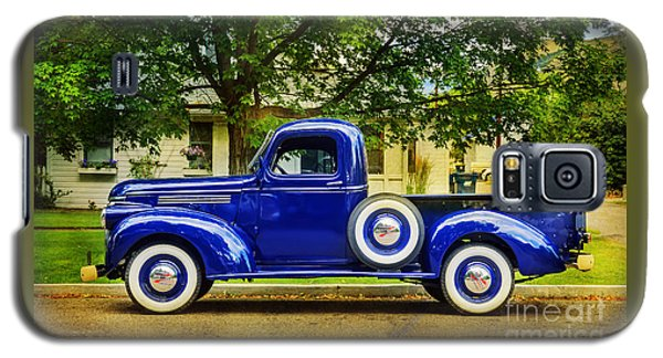Missoula Blue Truck Galaxy S5 Case