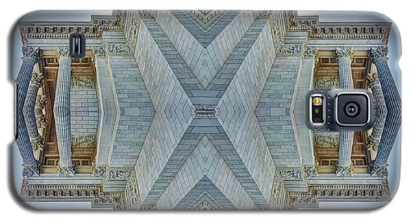 Galaxy S5 Case featuring the photograph Missouri Capitol - Abstract by Nikolyn McDonald