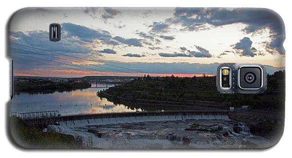 Missouri River Black Eagle Falls Mt Galaxy S5 Case
