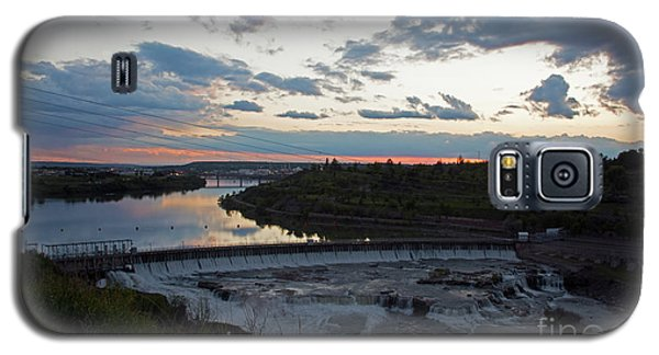 Missouri River Black Eagle Falls Mt Galaxy S5 Case