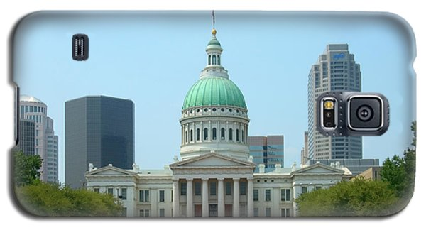 Galaxy S5 Case featuring the photograph Missouri State Capitol Building by Mike McGlothlen