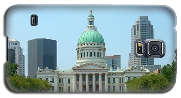 Capitol Building Galaxy S5 Case - Missouri State Capitol Building by Mike McGlothlen