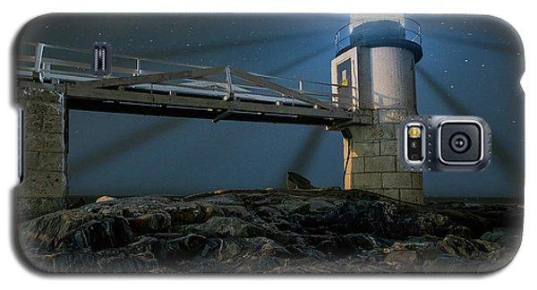 Mist At Marshall Point Light Galaxy S5 Case