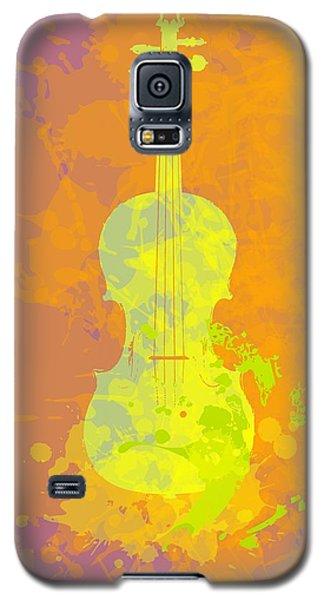 Mist Violin Galaxy S5 Case