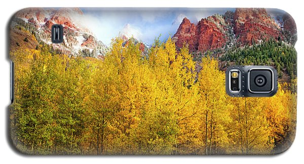 Misty Autumn Morning Galaxy S5 Case by Andrew Soundarajan