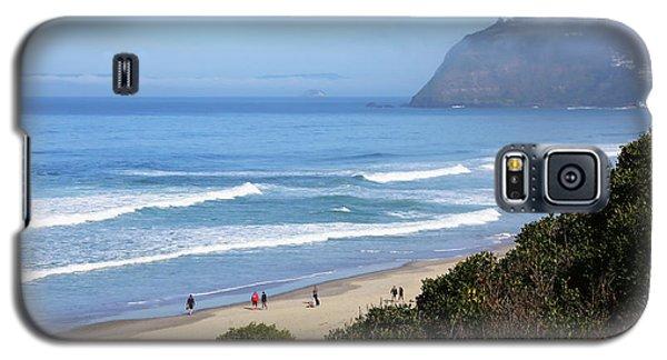 Misty Beach Morning Galaxy S5 Case