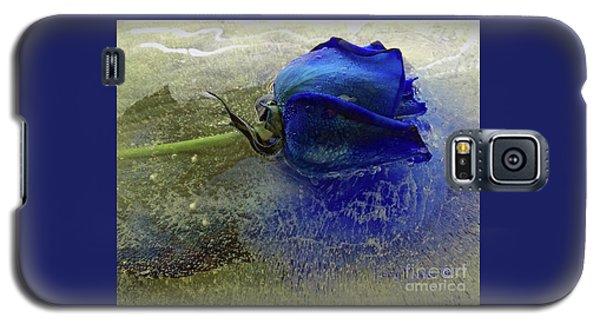 Misty Blue Galaxy S5 Case