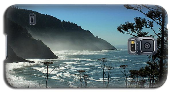 Misty Coast At Heceta Head Galaxy S5 Case