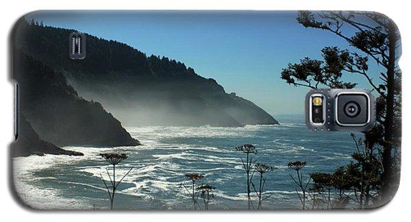 Misty Coast At Heceta Head Galaxy S5 Case