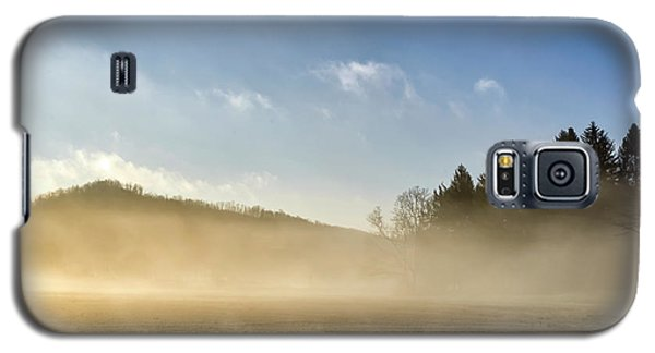 Galaxy S5 Case featuring the photograph Misty Country Morning by Thomas R Fletcher