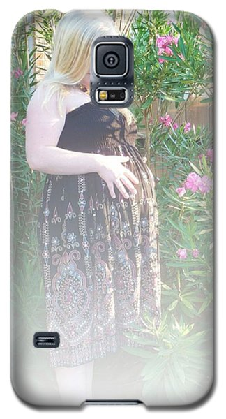 Misty Garden Pose Galaxy S5 Case