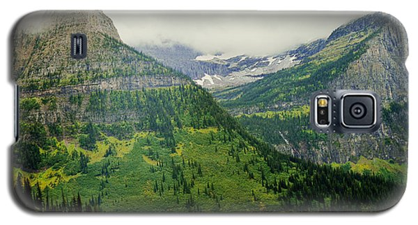 Misty Glacier National Park View Galaxy S5 Case
