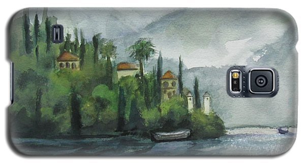 Misty Island Galaxy S5 Case by Laurie Morgan