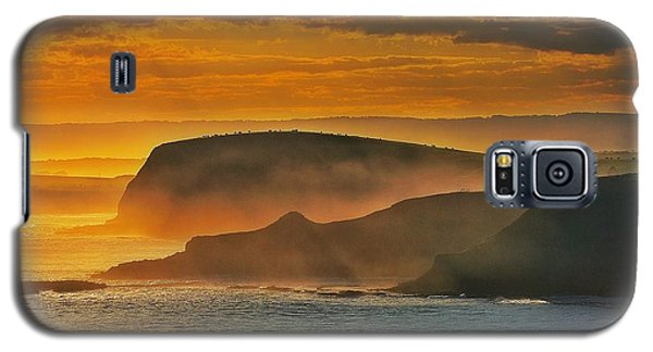Misty Island Sunset Galaxy S5 Case by Blair Stuart