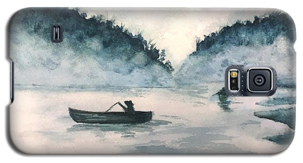 Misty Lake Galaxy S5 Case by Lucia Grilletto