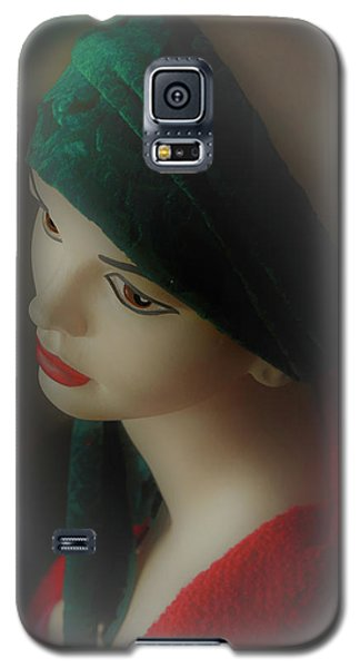 Galaxy S5 Case featuring the photograph Misty Lucy by Nareeta Martin