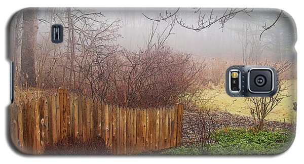 Galaxy S5 Case featuring the photograph Misty Morn by Betsy Zimmerli