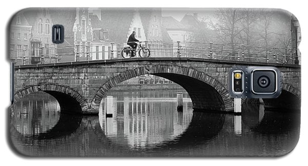 Misty Morning In Bruges  Galaxy S5 Case