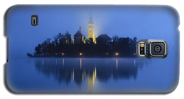 Misty Morning Lake Bled Slovenia Galaxy S5 Case