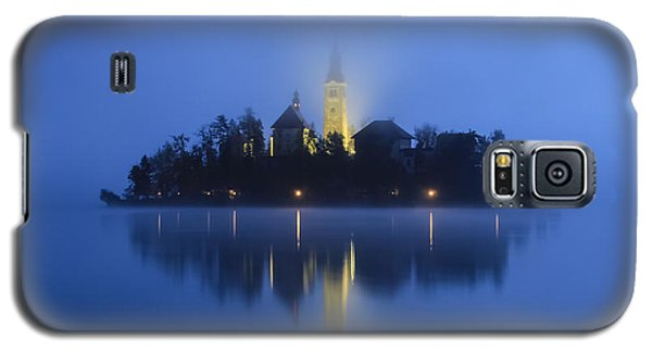Misty Morning Lake Bled Slovenia Galaxy S5 Case