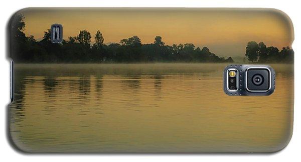 Misty Morning Lake Galaxy S5 Case