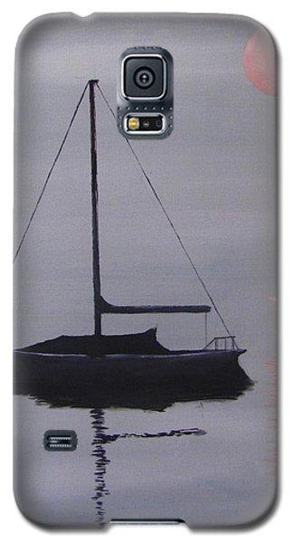 Misty Morning Mooring Galaxy S5 Case