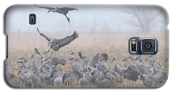 Misty Morning Nebraska Landing Galaxy S5 Case