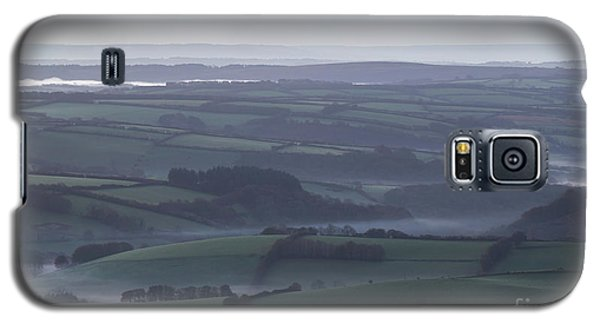Misty Morning On Exmoor  Galaxy S5 Case