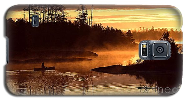 Misty Morning Paddle Galaxy S5 Case