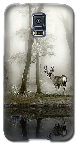 Misty Morning Reflections Galaxy S5 Case