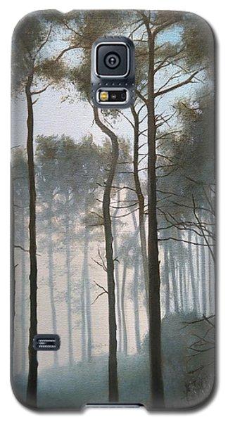 Misty Morning Walk Galaxy S5 Case