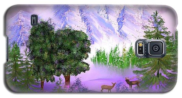 Misty Mountain Deer Galaxy S5 Case
