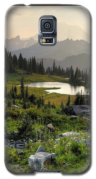 Misty Mountain Landscape Galaxy S5 Case