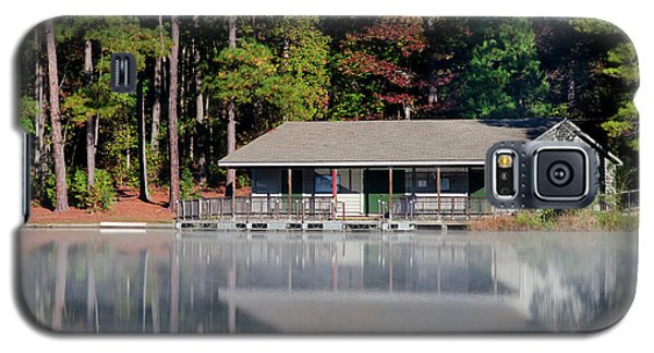 Galaxy S5 Case featuring the photograph Misty Reflection At Durant by George Randy Bass