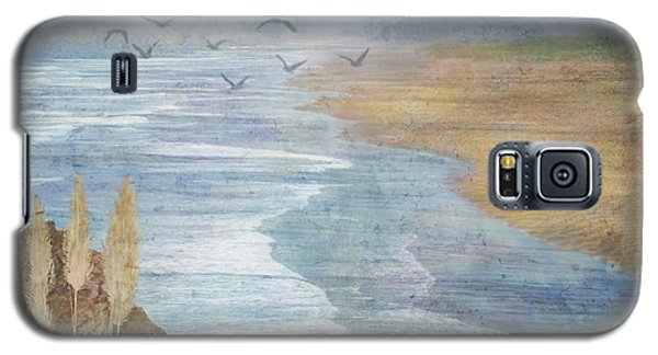 Galaxy S5 Case featuring the digital art Misty Retreat by Christina Lihani