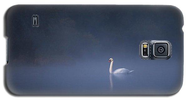 Misty River Swan Galaxy S5 Case