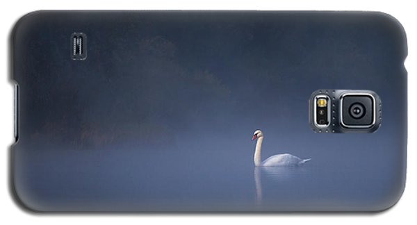 Misty River Swan Galaxy S5 Case