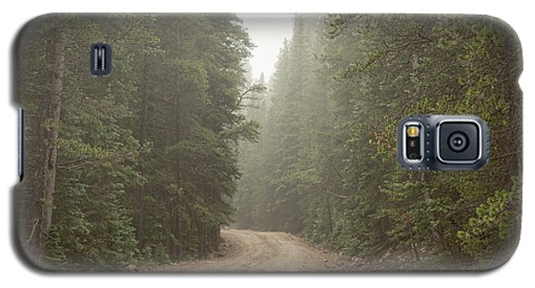 Galaxy S5 Case featuring the photograph Misty Road by James BO Insogna