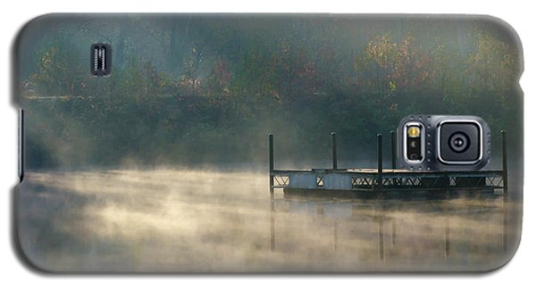 Galaxy S5 Case featuring the photograph Misty Sunrise by George Randy Bass