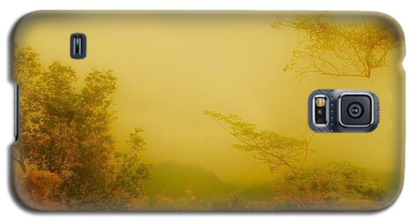 Misty Yellow Hue- El Valle De Anton Galaxy S5 Case
